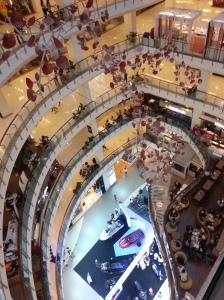 This is one out of the 12 or 13 malls they have in Bangkok...I've lost track of how many they have