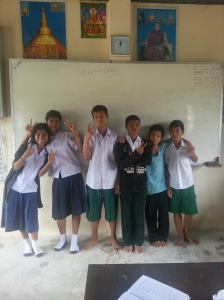 The last class photo we will have with (the boy in the middle) our friend.